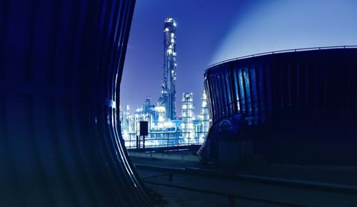 Petrochemical production facility