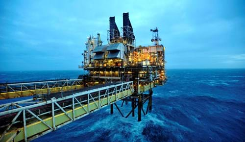 Offshore hydrocarbon production platform